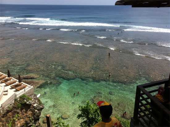 Gratuitous beach shot. Uluwatu.