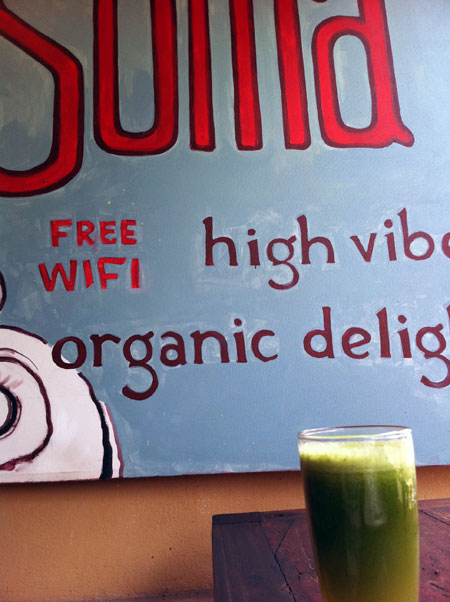 Treats that are good for you, of course -- we're in Ubud!
