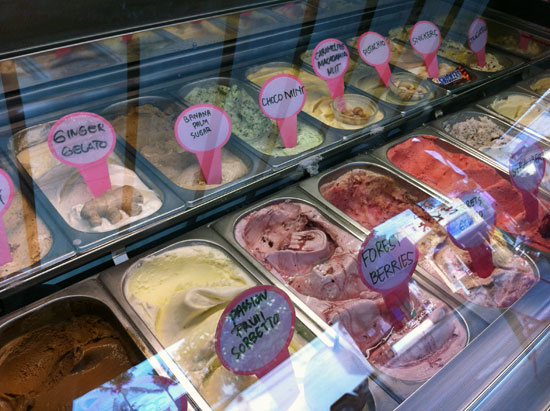 Shhh, this gelato's a secret.