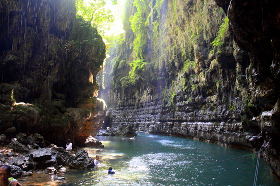 Green Canyon. A great spot for a dip.