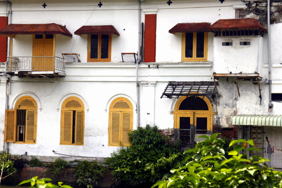 Colonial architecture abounds in Surabaya