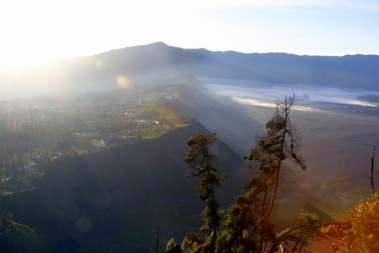 Cemoro Lawang on the edge of the Tengger Caldera