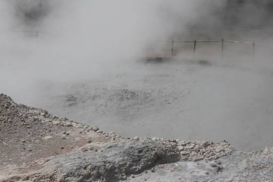 If you're into boiling mud, Dieng is for you
