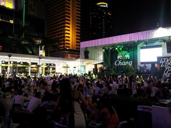 Change Beer Garden at Central World
