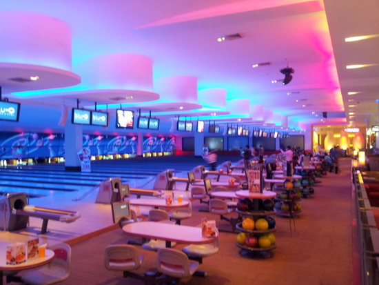 36 lanes of flash bowling opportunity.