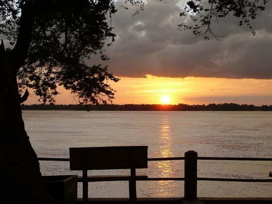 sunset in sihanoukville