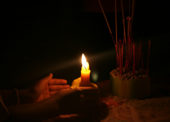 A candle for the Norodom