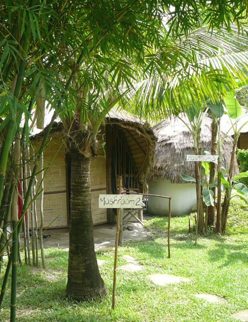 Mushroom Point garden bungalows, Otres Beach, Sihanoukville Cambodia