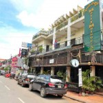 Molly Malone&#039;s Guest House, Siem Reap, as seen from the street