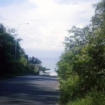 road to sokha beach, sihanoukville cambodia