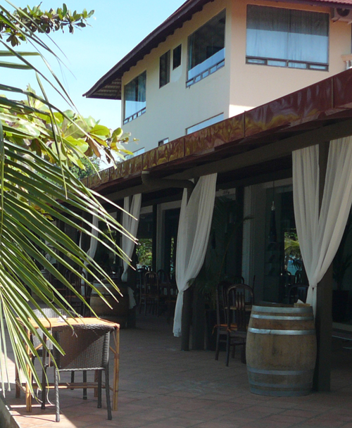 A'Chaar Restaurant at Victory Beach Hotel, Sihanoukville Cambodia