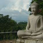 Buddha at Wat Krom, Sihanoukville Cambodia