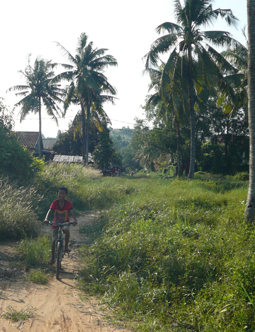bike trail in sihanoukville cambodia
