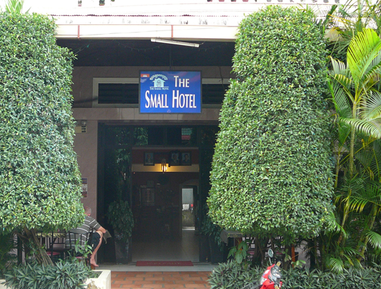 the small hotel, sihanoukville cambodia