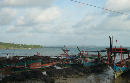 fishing village in sihanoukville cambodia
