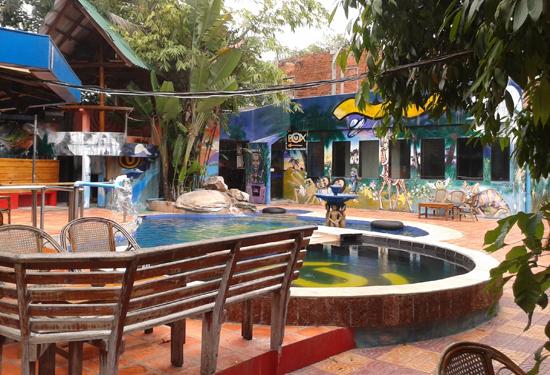 utopia swimming pool, sihanoukville cambodia