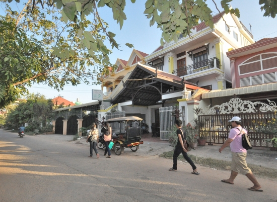 Siem Reap Rooms Guesthouse, on a moderately busy afternoon
