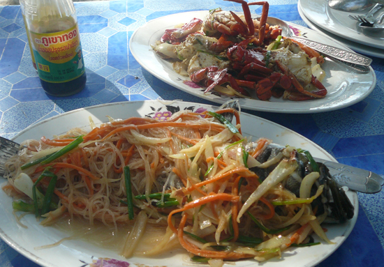 the crab shack, near koh kong, cambodia