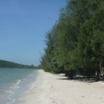 beach at Koh Kong, Cambodia