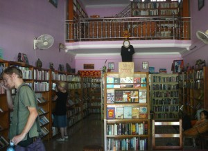 2 floors of books to explore