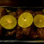 Stuffed vine leaves ... mmmmmm