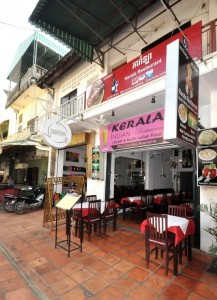Kerala Restaurant: Tucked away up chi-chi Alley West near Pub Street