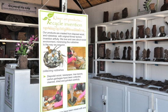 more recycled goodies, more hassle-free shopping