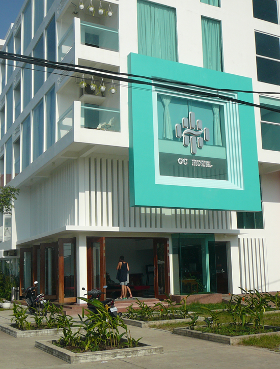 new wing of OC Hotel, Sihanoukville Cambodia