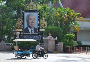 The Royal Residence, where the late King Sihanouk planned his crusade for independence