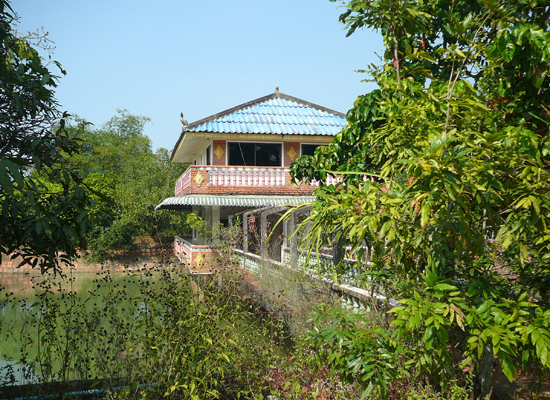 home in rural Sihanoukville, Cambodia