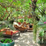Chill out and balance your chakras in The Peace Cafe's garden
