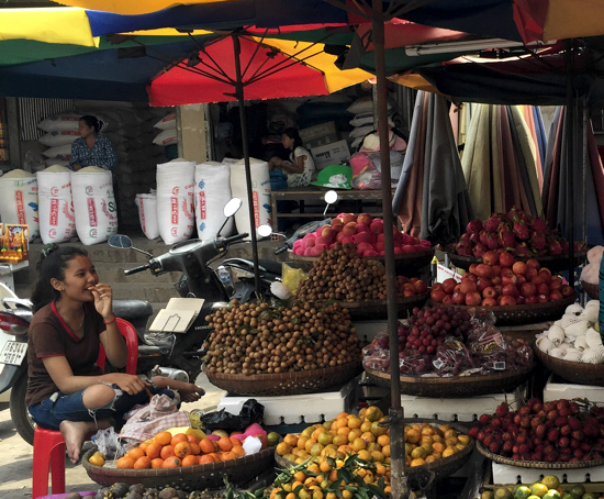 Market fruits are always a healthy snack or dessert option.