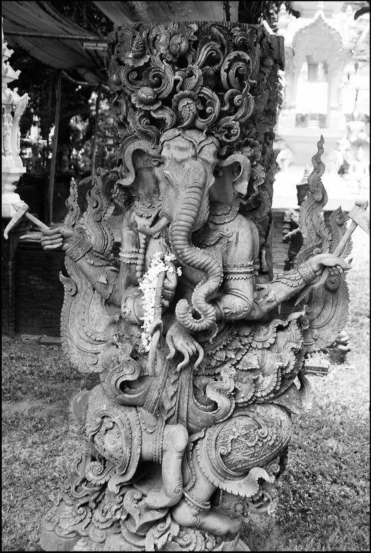 Ganesh in the garden