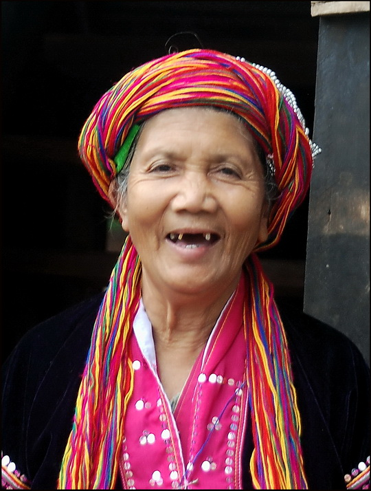Palaung woman near Kalaw