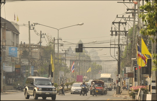 Downtown Chiang Mai 12.00 today