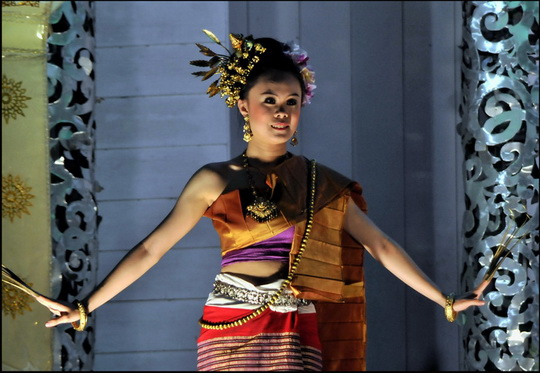North Thai traditional dance