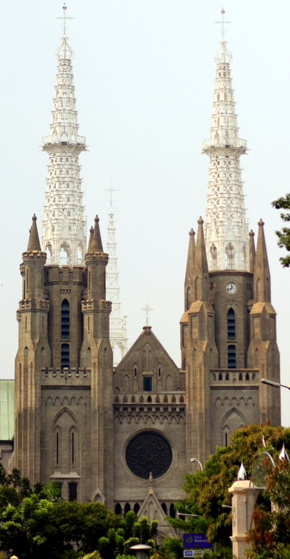The main cathedral in Jakarta is simply called Katedral