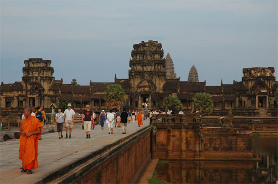 The crown jewel of Cambodian tourism.