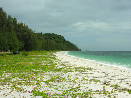 No beachside tailor shops on Ko Adang.