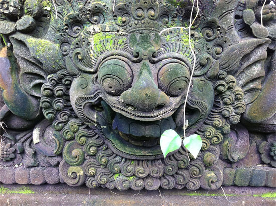 Smile you're in Bali!