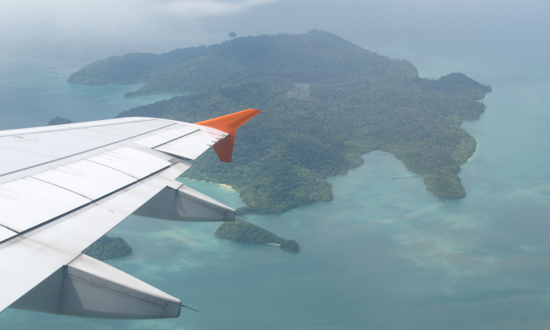 Tourists by the plane-load descend on Langkawi.