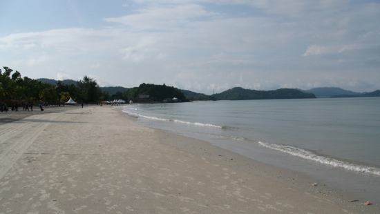 Pantai Cenang looking its best.