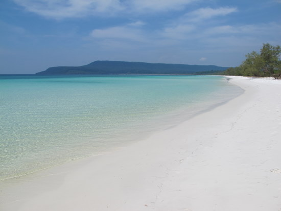 Koh Rong: Made for footprints.