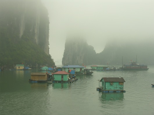 Mystical Ha Long Bay can feel like another planet...
