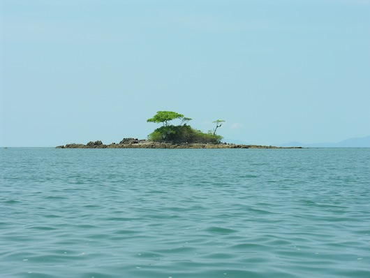 If Ko Chang's not quite isolated enough, this little spot is just a short kayak ride away.