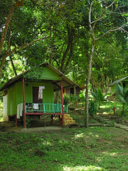 Typical accommodation on Ko Chang noi, this one from Sea Eagle Resort.