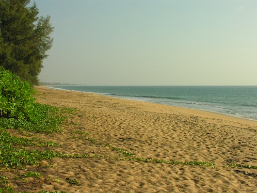 If you like long walks on secluded beaches, Ko Phra Thong is for you.