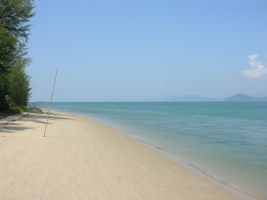 It's a much shorter, easier hike to Ko Ra's beach.