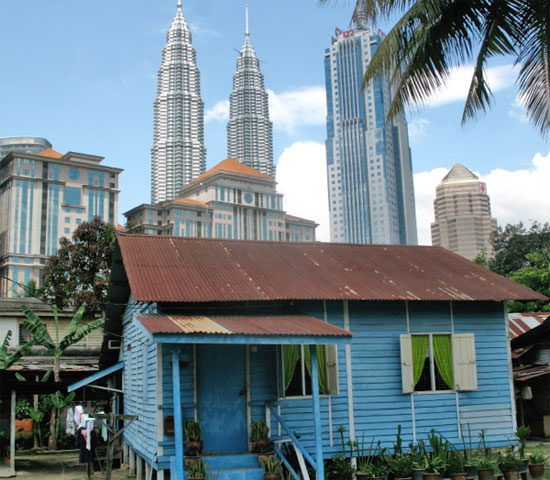 Old and new in KL.