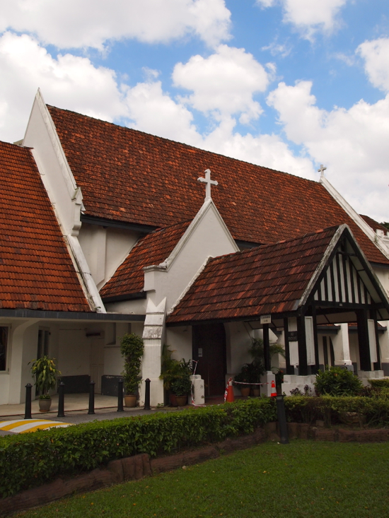 An English parish church transplanted to Malaysia.